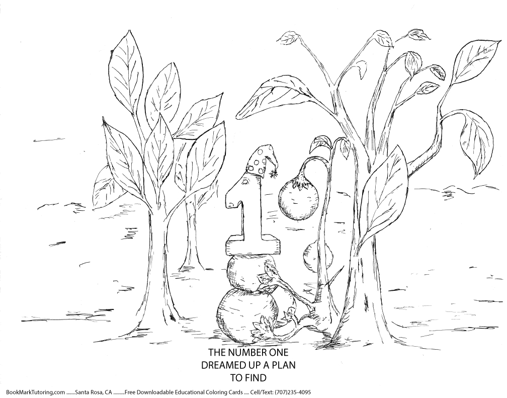 numberland coloring pages - photo#44