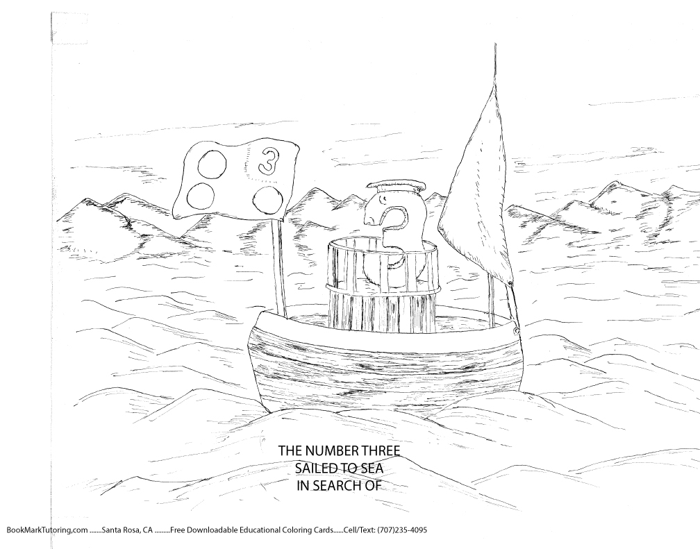 numberland coloring pages - photo#45